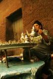 Tiempo del té en Asni Fotografía de archivo libre de regalías