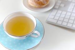 Tiempo del té Fotografía de archivo