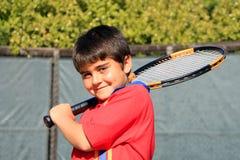 Tiempo del tenis Fotos de archivo libres de regalías