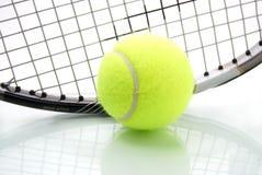 Tiempo del tenis Foto de archivo libre de regalías