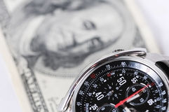 Tiempo-dinero imagen de archivo libre de regalías