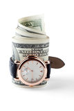 Tiempo - dinero Foto de archivo