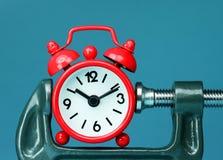 Tiempo ejercido presión sobre Imagenes de archivo