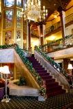Tiempo en el hotel de Biltmore, providencia, RI de la Navidad Fotografía de archivo