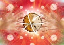 Tiempo en el movimiento Foto de archivo