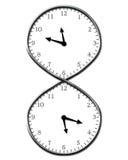Tiempo eterno ilustración del vector