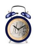 Tiempo euro Imagen de archivo libre de regalías
