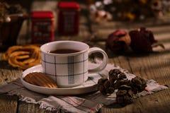 Tiempo inglés del té foto de archivo
