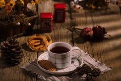 Tiempo inglés del té imagen de archivo libre de regalías