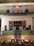 Tiempo interior Warner Cable Building en Manhattan Imagenes de archivo