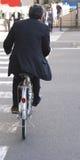 Tiempo japonés del hombre de negocios-almuerzo?. Imagen de archivo