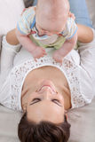 Tiempo libre con el bebé foto de archivo libre de regalías