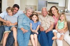 Tiempo libre del gasto de la familia foto de archivo libre de regalías