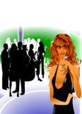 Tiempo libre del salón del partido Imagenes de archivo