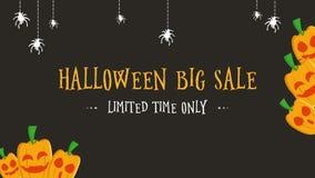 Tiempo limitado de la venta grande de Halloween solamente de la animación libre illustration