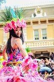 Tiempo loco en Disneyland, Hong-Kong imagenes de archivo
