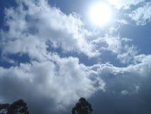 Tiempo magnífico, maravilloso, y soleado Imagen de archivo