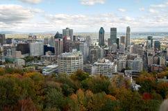 Tiempo muerto Montreal en la caída Fotografía de archivo libre de regalías