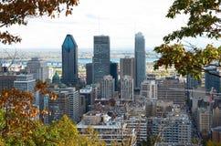 Tiempo muerto Montreal en la caída Fotos de archivo libres de regalías