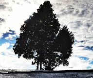 Tiempo nublado Imagen de archivo libre de regalías