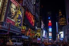 Tiempo Nueva York cuadrada Imagen de archivo libre de regalías