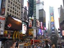 Tiempo Nueva York cuadrada fotografía de archivo libre de regalías