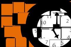 Tiempo partido Foto de archivo libre de regalías