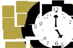 Tiempo partido Imagen de archivo