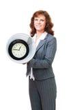 Tiempo perdido en compartimiento Foto de archivo