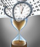 Tiempo perdidoso stock de ilustración