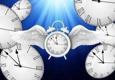 Tiempo que pasa concepto stock de ilustración
