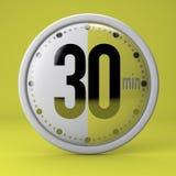 Tiempo, reloj, contador de tiempo, cronómetro Foto de archivo libre de regalías