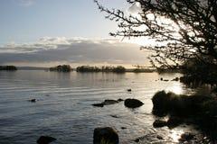 Tiempo reservado en el lago Derg Imágenes de archivo libres de regalías