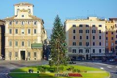 Tiempo Roma de la Navidad de Navidad del cuadrado de Venecia Imagen de archivo