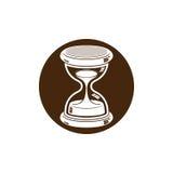 Tiempo sin el icono conceptual del extremo, elemento del diseño web antigüedad 3d Foto de archivo libre de regalías
