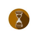 Tiempo sin el icono conceptual del extremo, elemento del diseño web vector 3d Imágenes de archivo libres de regalías