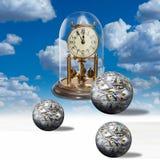 Tiempo - un dinero Fotos de archivo libres de regalías