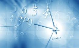 Tiempo y espacio stock de ilustración