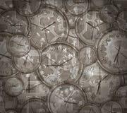 Tiempo y maquinaria de la vendimia ilustración del vector