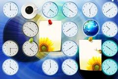 Tiempo y tierra Foto de archivo