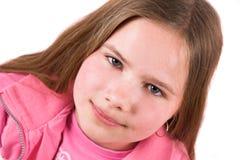 Tien éénjarigenmeisje Stock Foto