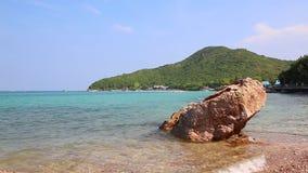 Tien Beach In Koh Larn Island Of Chonburi Thailand stock video