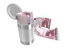 Tien euro Royalty-vrije Stock Afbeelding