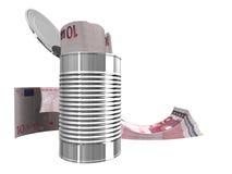 Tien euro Stock Foto