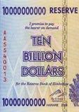 Tien Miljard Dollars royalty-vrije stock foto