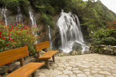 Tien Sa waterfall SAPA,Vietnam Stock Images
