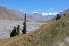 Região central de Quirguistão - Tien Shan Imagem de Stock Royalty Free