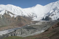 Tien Shan - Asia. Idyllic Tien Shan Mountains - Asia royalty free stock photos