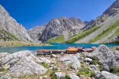 Tien-Shan lake Royalty Free Stock Photo