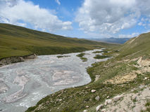 Tien Shan landscape 02 Stock Image